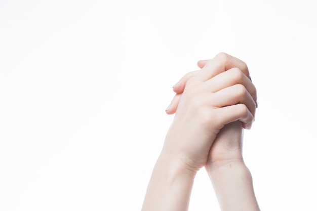 Picture of hands in prayer